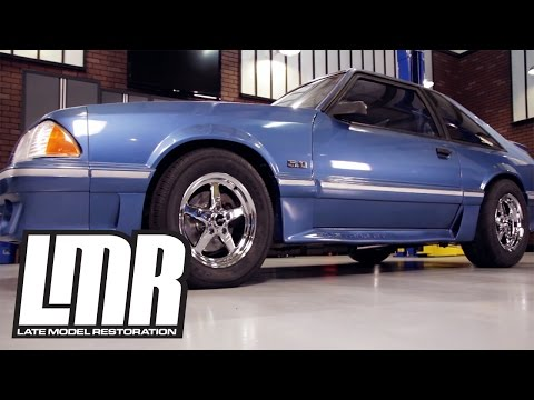 Installing SVE Drag Wheels on a Fox Body Mustang