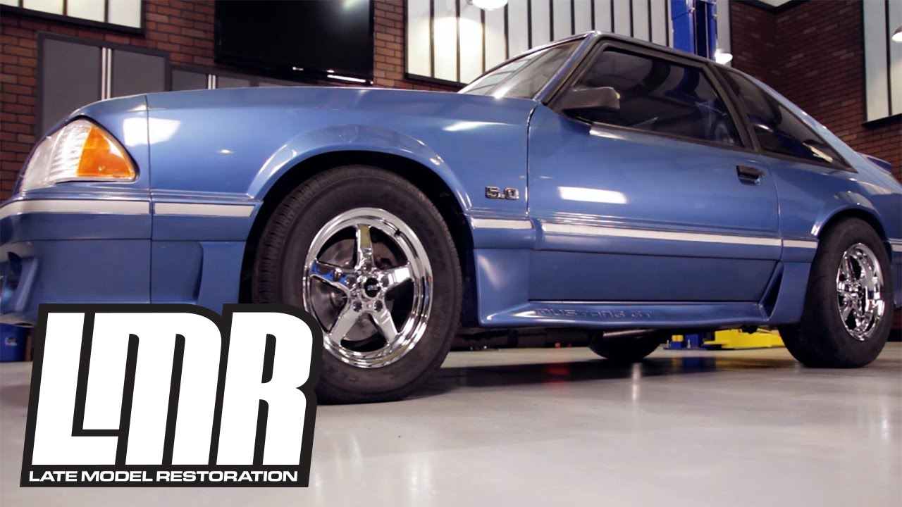Fox Body Wheels >> Installing Sve Drag Wheels On A Fox Body Mustang Youtube