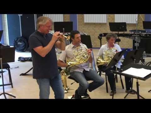 Prøve med Ole Edvard Antonsen - Tartini