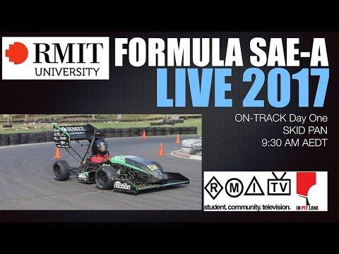 Formula SAE-A 2017 Skid Pan