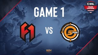 The FirstOne vs Neolution Esport Game 1   ESL Thailand Championship - ROV