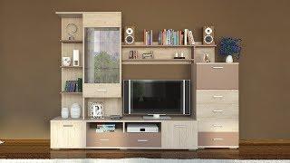 видео Купить стенку под телевизор в СПб - мебельные стенки для ТВ по низким ценам