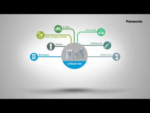 Product Video Panasonic Lithium Ion Batteries
