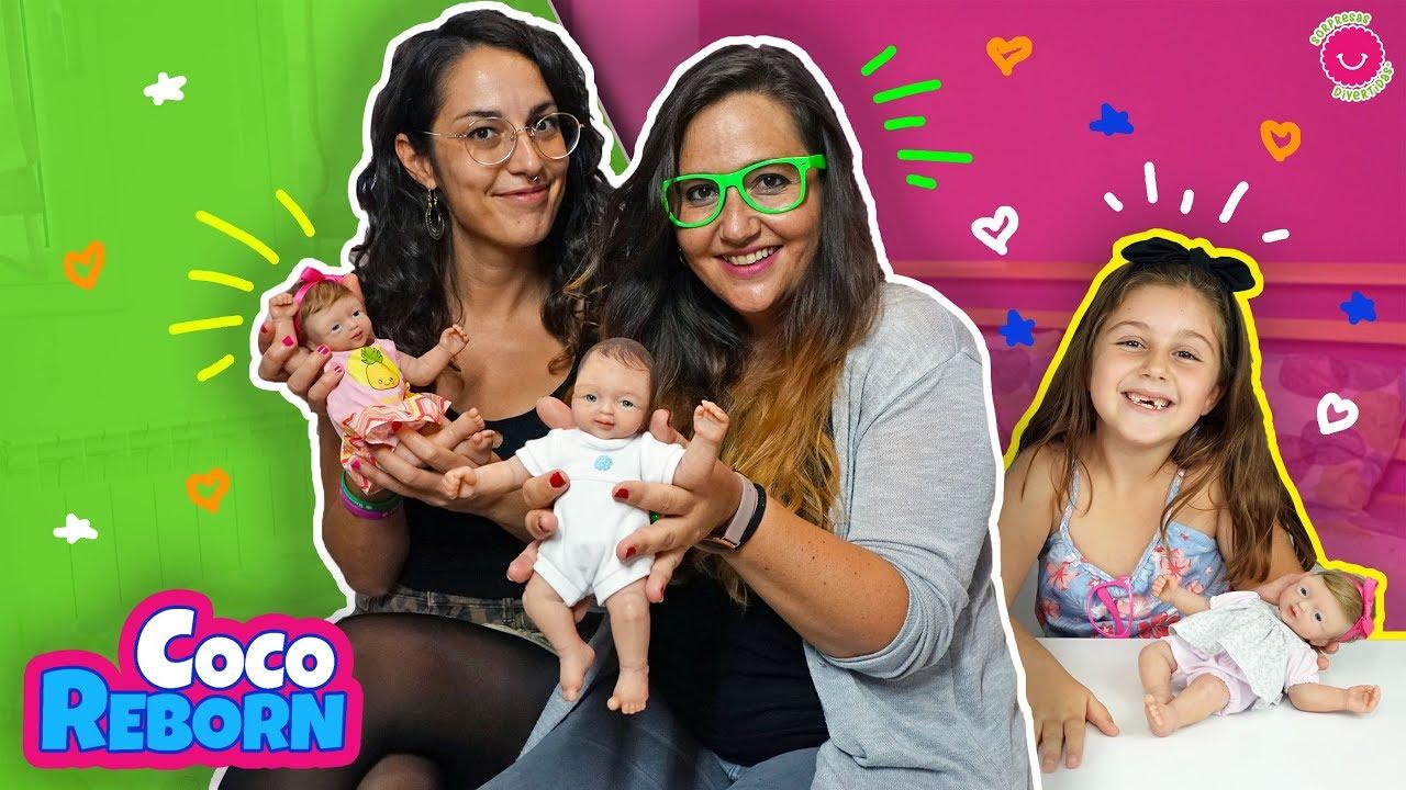 CocoReborn nos visita con NUEVOS bebés de SILICONA 😍