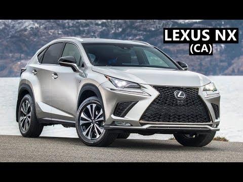2020 Lexus Nx Canadian Version Youtube