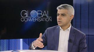 رئيس بلدية لندن صادق خان ليورونيوز: الاتحاد الأوروبي لا يشبهنا…