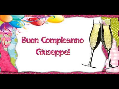 Tanti Auguri di Buon Compleanno Giuseppe!   YouTube