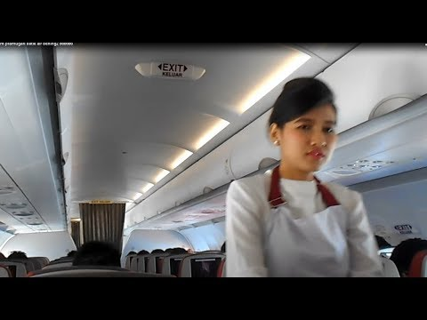 GT-TU # 8 Fresh.. !! The Beauty of Batik Air Stewardess Instantly Make Less Tired & Lethargic !!