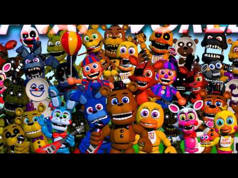 FNAF WORLD BATTLE MUSIC THEME SONG FULL! (FNAF WORLD SONG!)
