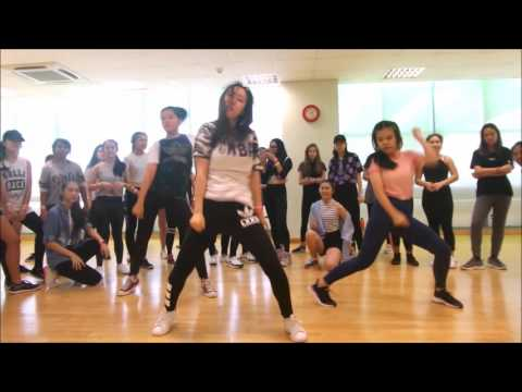 Lia Kim Formation Dance Workshop in Singapore