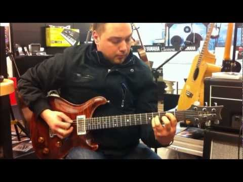 PRS Gitarre Classic Electric 22 Maple Top ! Test im Haus der Musik Stefan Maier Rosental