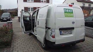 Nissan e-NV200: Abholung, Rundgang und Transport, Laden   nextmove