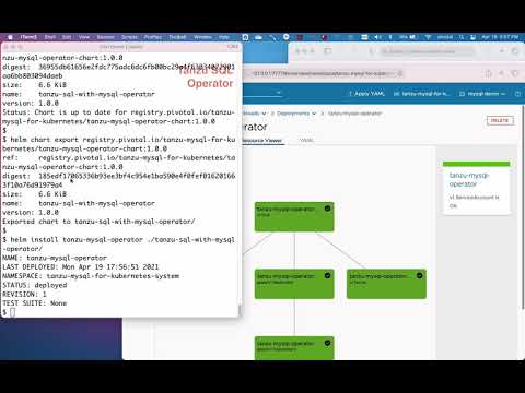 Tanzu SQL MySQL: Kubernetes Operator Installation