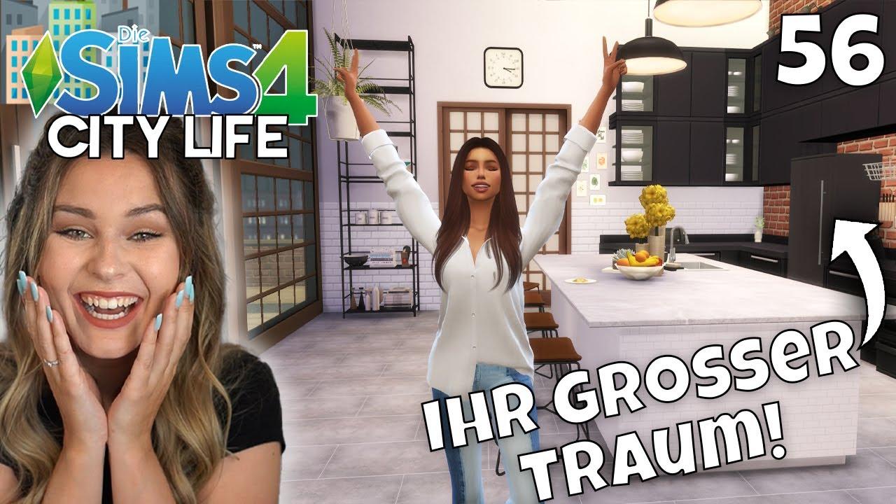 Umzug ins NEUE PENTHOUSE! - Die Sims 4 City Life Part 56   simfinity