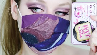 Too Faced That's My Jam MINI PURPLE MASK Makeup Tutorial 2021 | Lillee Jean