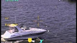 Stolen Boat crashes into dock