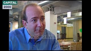 Extrait archives M6 Video Bank // Jeff Bezos - Amazon (Capital - 2000)