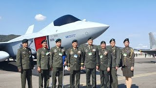 The Philippine Army PA sends contingent to ADEX 2019 in  in South Korea