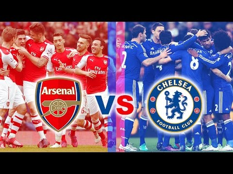 FIFA 17 Exhibition : Chelsea FC vs Arsenal FC (Most Epic Match and Result EVER!!)
