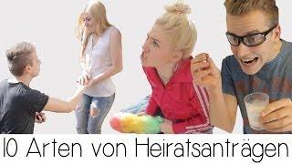 10 ARTEN VON HEIRATSANTRÄGEN + Outtakes