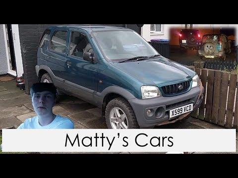 2000 Daihatsu Terios Review (with off-road footage) – Matty's Cars