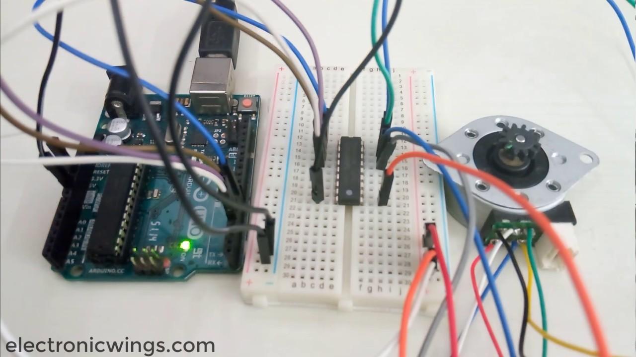 Arduino Stepper Motor Interfacing With Arduino Uno | Arduino