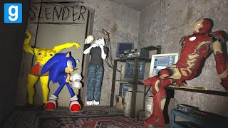 Gmod Stop it, Slender - but it was terrifying than we expected...(Funny and Scary Moments!)