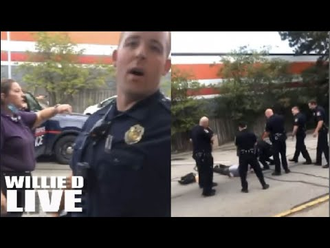 Grand Rapids Police Wrongfully Detain Innocent Black Man Picking Up Check, Accused Him of Robbery