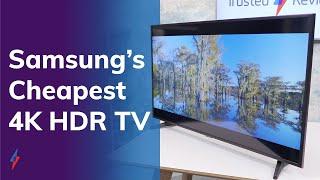 Samsung's cheapest 4K TV Review | Samsung UE43RU7020