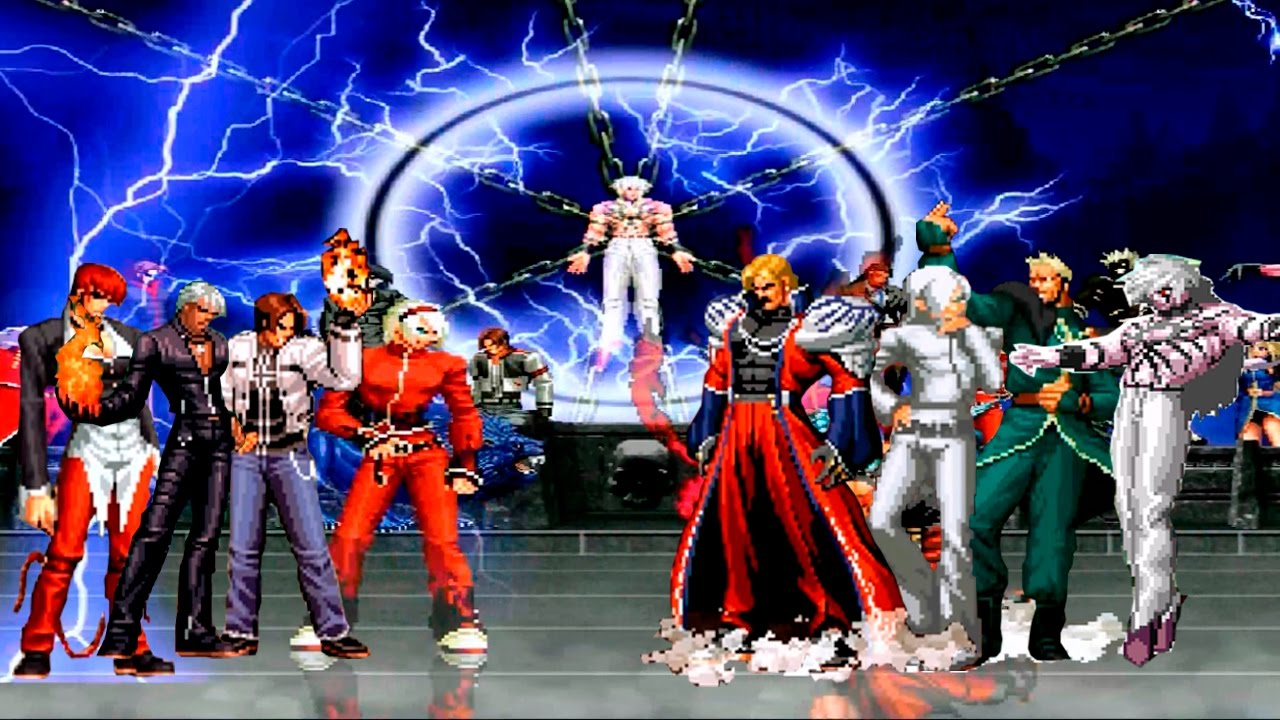 Mugen Fighters Guild Character Wiki The King of Fighters XII-XIII