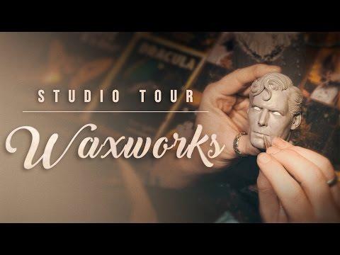 Sideshow Collectibles Studio Tour: Waxworks (Part 3)