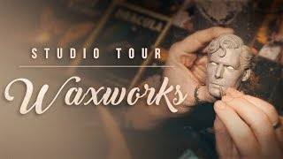 Sideshow Collectibles Studio Tour: Waxworks (Part 3)