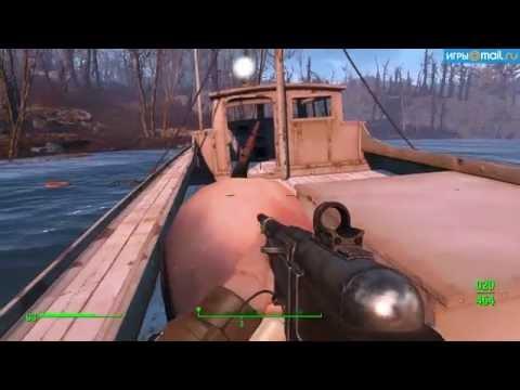 Пасхалка в Fallout 4. Отсылка к фильму «Челюсти» 1975 года