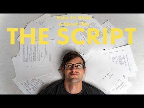 How to Write A Short Film Script