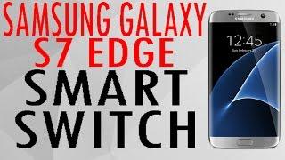 Samsung Galaxy S7 Edge, Localizar Smart Switch sin instalar en Play Store.