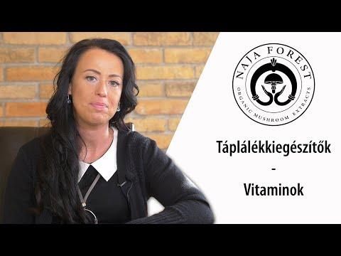 Naja Forest - Egészség percek: Táplálékkiegészítők, vitaminok