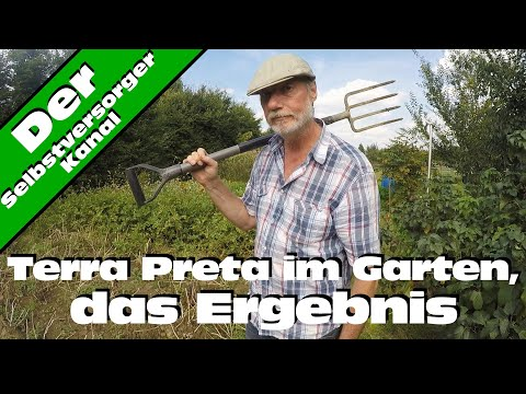 Terra Preta und Huminsäure für den Garten. Das Ergebnis