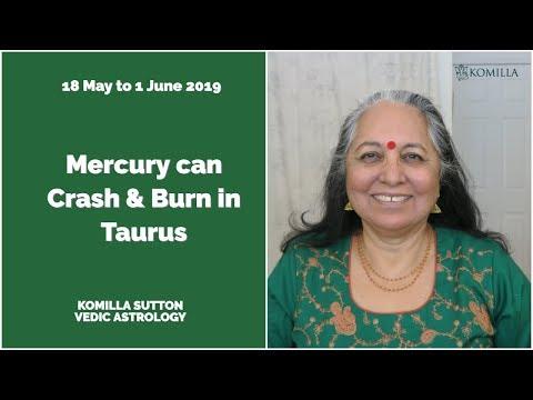 Mercury Can Crash And Burn In Taurus: Komilla Sutton