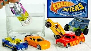 Color Changers Cars Toys NEW Hot Wheels Monster Trucks ★ Color Shifters Colour Changing Cars