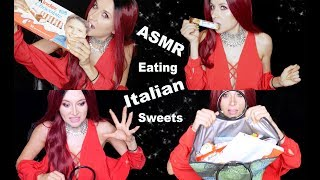 ASMR Eating Sweets from Italy