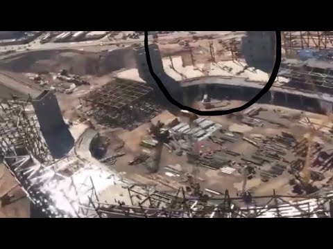Las Vegas Stadium Vlog To Rosemary Phillips On Construction Issue