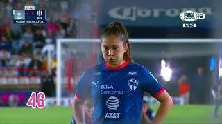 100 veces rompiendo la red; 100 veces gritando gol; 100 veces Desireé Monsiváis en la Liga BBVA MX Femenil.