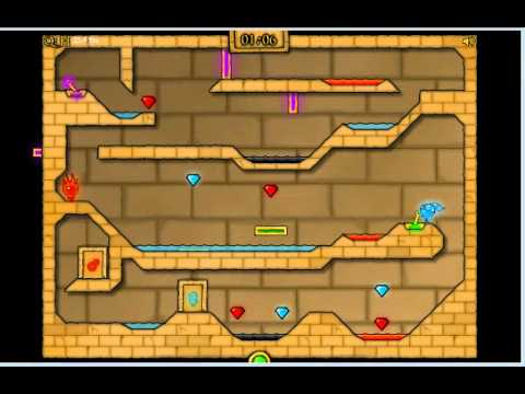 Fireboy And Watergirl 2 In Light Temple Cool Math Level 19