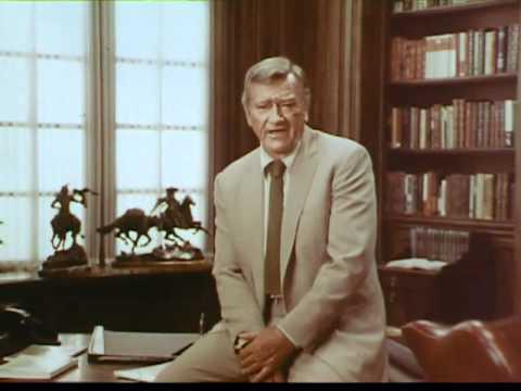 John Wayne Spot For The American Cancer Society