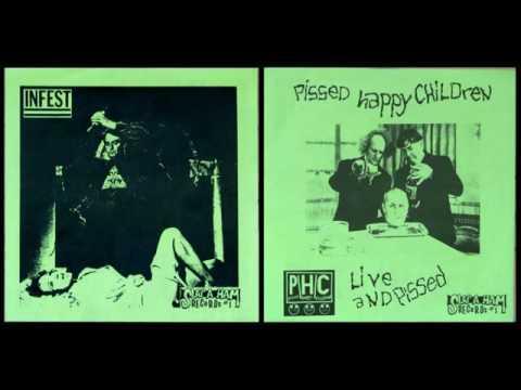 Infest - Pissed Happy Children (PHC) Split EP