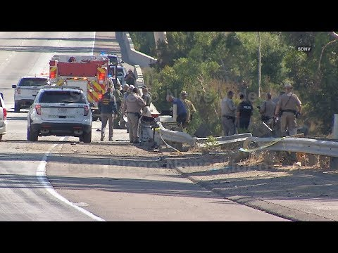 Three people killed, one seriously injured in Border Patrol pursuit crash, Rancho Bernardo