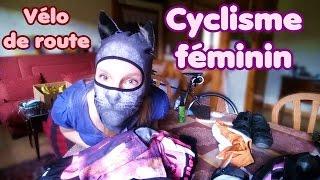 Mon matériel de cyclisme féminin