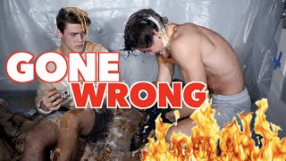 Eat It Or Wear It Challenge GONE WRONG!!!! // Dolan Twins