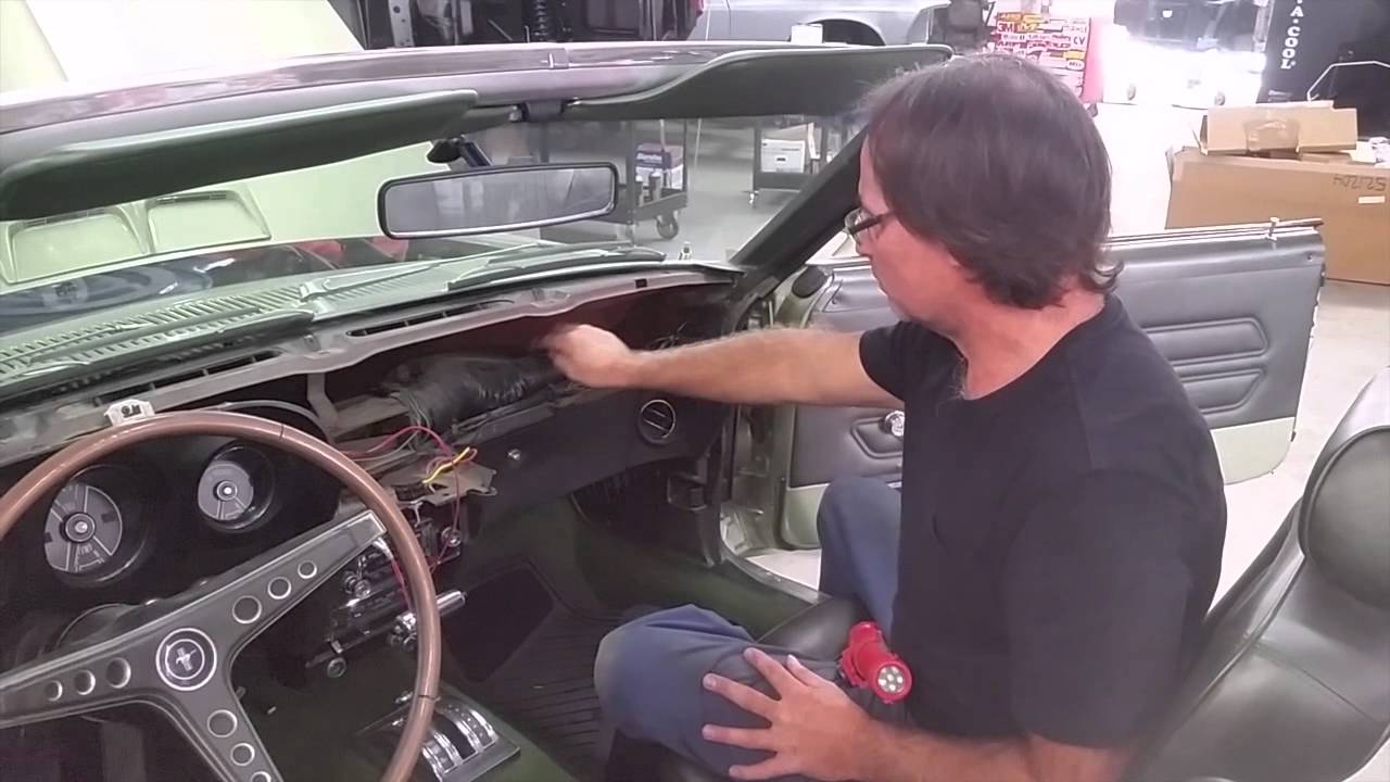 Air Conditioning Bob S 1969 Mustang Gt Matching Numbers Ford Day 170 Part 2 Medic