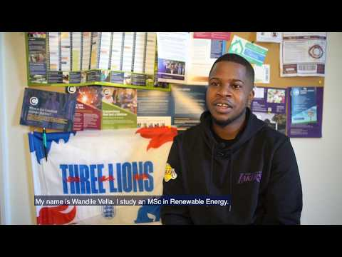 The Cranfield Student Journey: On-campus accommodation with Wandile
